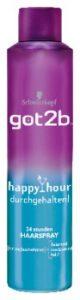 got2b happy hour durchgehalten 24 stunden haarspray